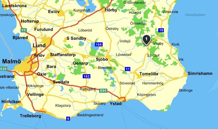 Karta Brösarp